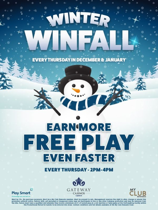 Winter Winfall promotion